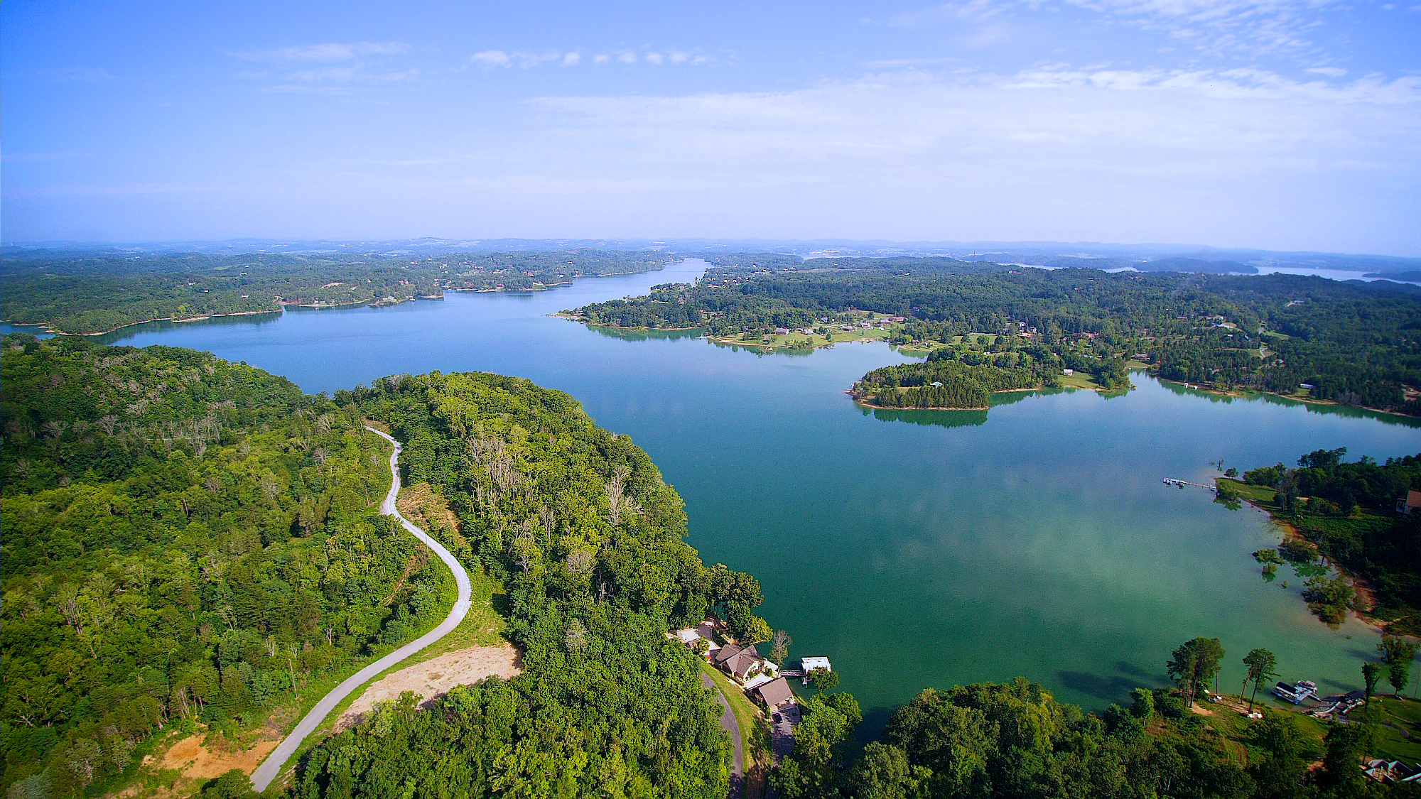 Drone Photography on Douglas Lake