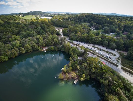 Ijams Nature Center Drone Photography Knoxville, TN