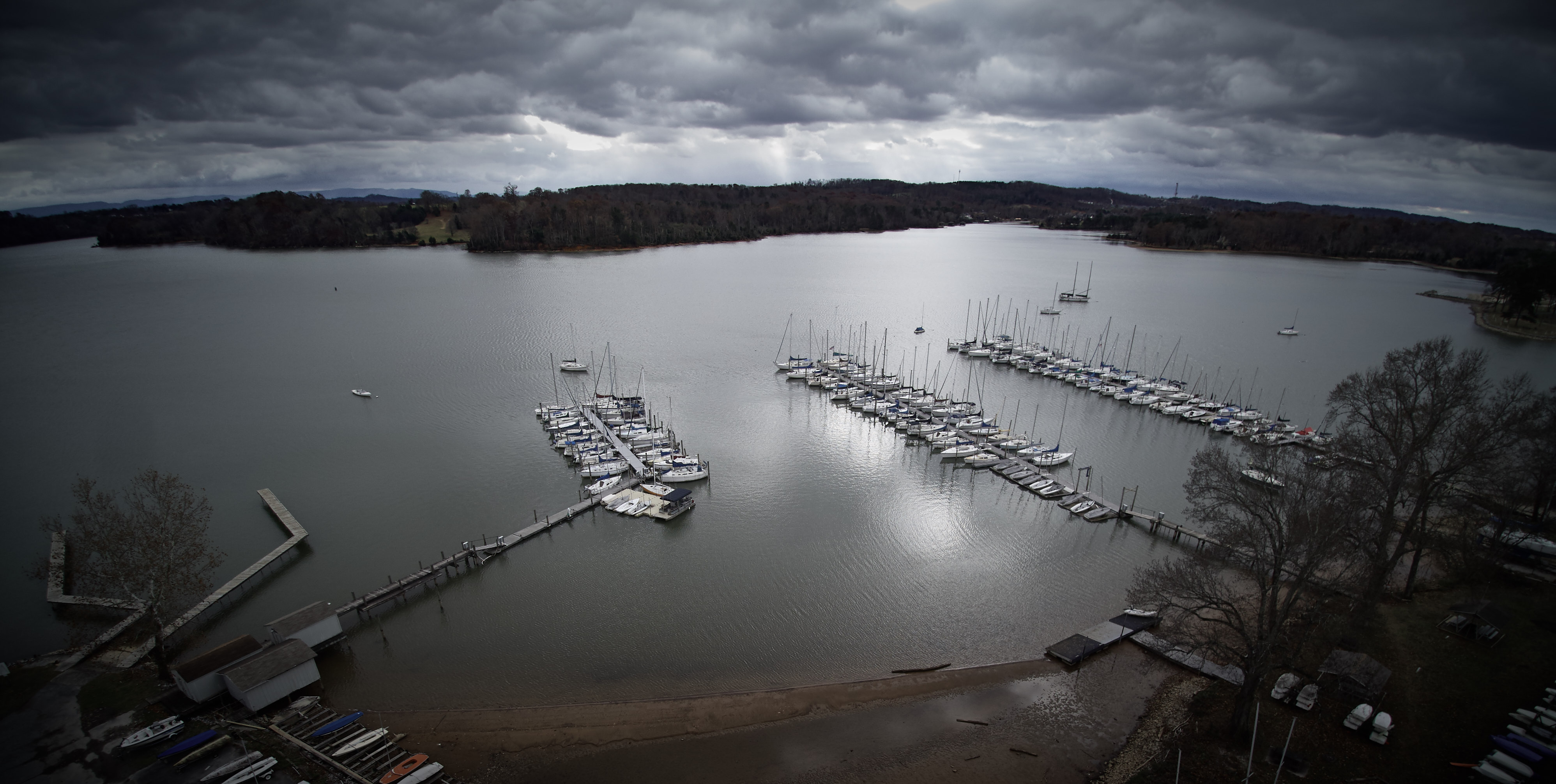 Concord Yacht Club Drone Photography Knoxville