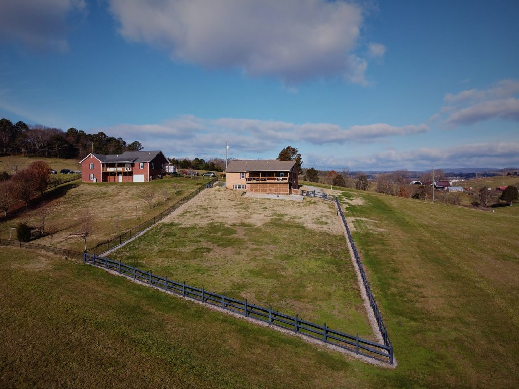 House for sale in Grainger Co, TN Drone Photography